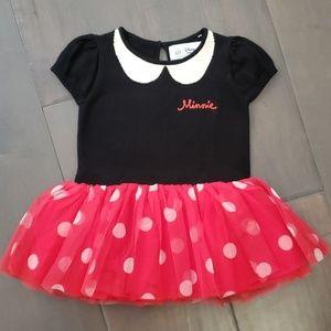 NWT GAP Disney Minnie Sweater Tutu dress 12-18m